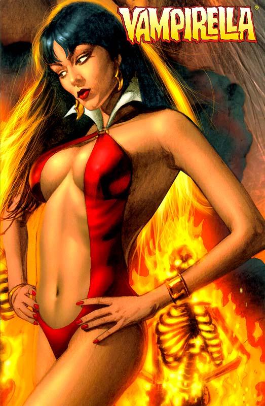 Lady Death Vampirella Comic Action 99 Messespezial